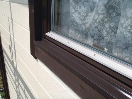 木製窓枠 キシラデコール