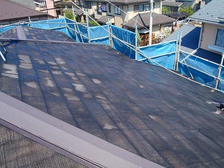05高圧洗浄屋根完了