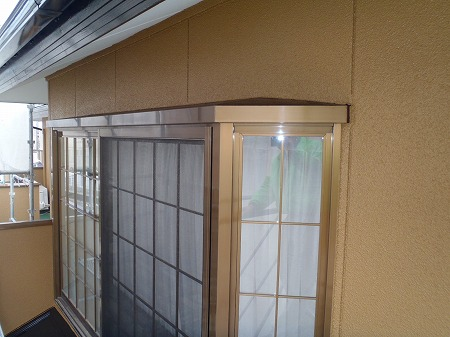 07 2F 外壁 施工完了