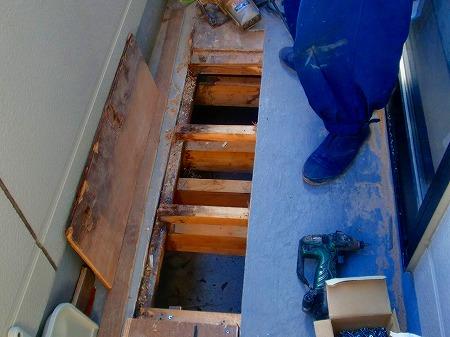 03 防水材及び床材の撤去