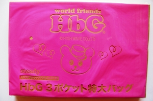 HbG 3ポケット特大バッグ