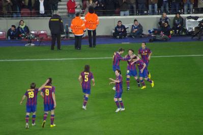 FC Barcelona vs VFB Stuttgart
