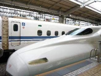 1 JR京都駅にて、新幹線ひかり