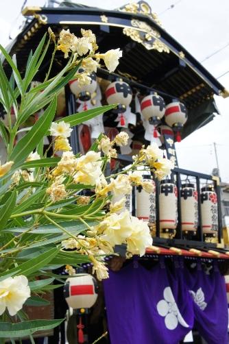 松本お祭りの山車