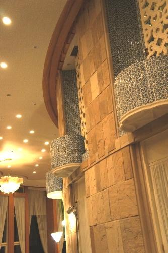 ザ・プリンス箱根 レストラン壁面装飾②