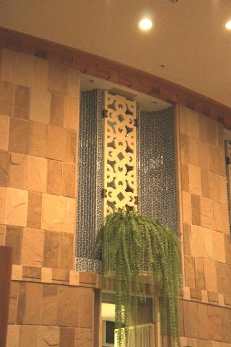 ザ・プリンス箱根 レストラン壁面装飾