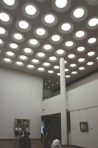 国立西洋美術館・天井