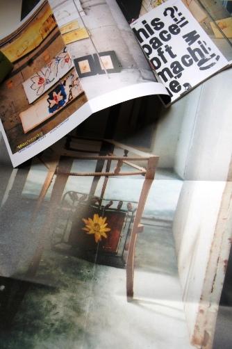 因幡誠氏個展印刷物