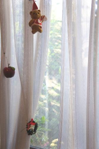 窓辺のクリスマス