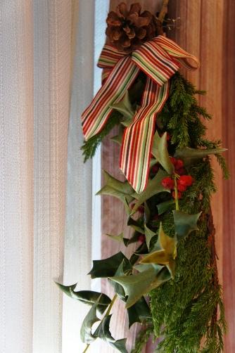 クリスマスリース2011部分