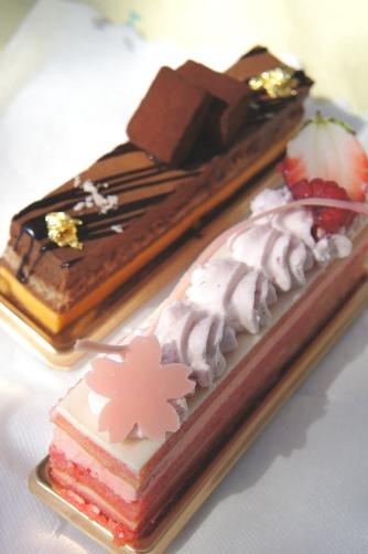 201204国立天文台桜ケーキ