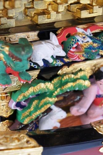 三社祭・御神輿の彫刻