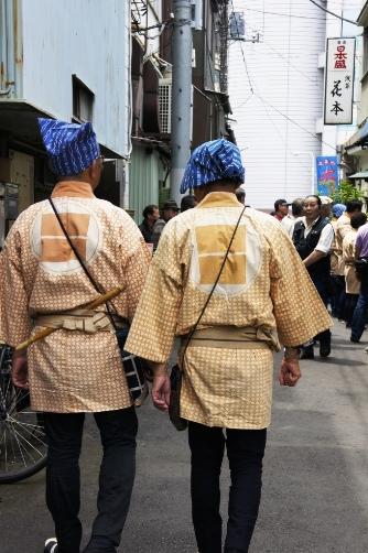 三社祭・粋なおじさん