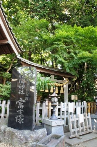 江古田浅間神社・富士塚