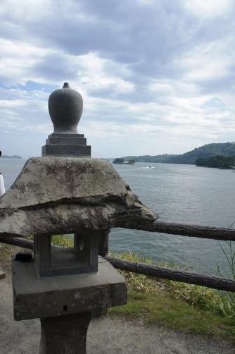 五大道の灯籠と松島