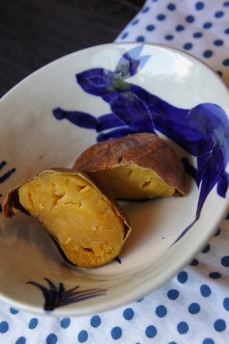 安納芋の蜜焼き芋③