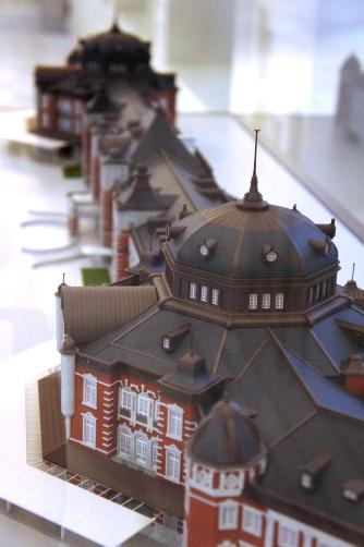 201210東京駅・模型