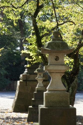中山法華経寺・灯籠