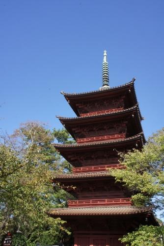 中山法華経寺・五重塔