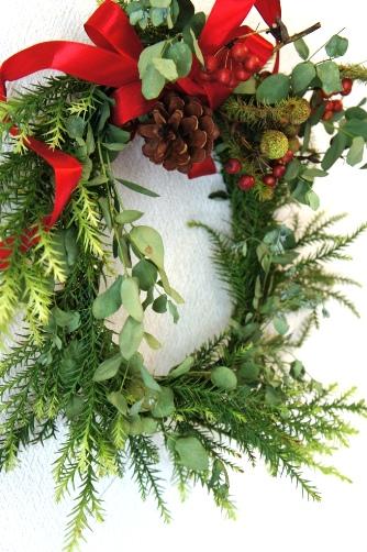 クリスマスリース2012①