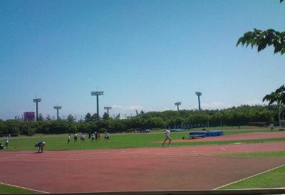 富津陸上競技場