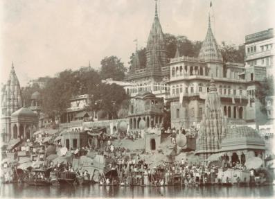 The+Temples+and+Ghats+of+Varanasi+(Benares)+-+c1900.jpg