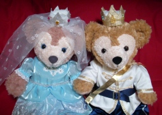 ダッフィー王子とシェリーメイ姫