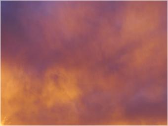 夕焼け空2012-10-18