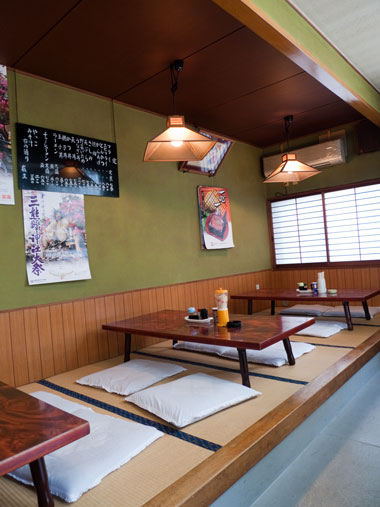 遠州横須賀 松島食堂 店内