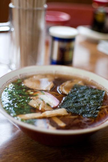 遠州横須賀 松島食堂 ラーメン