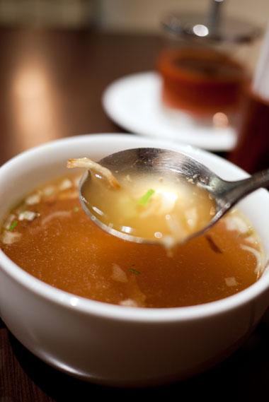 東京ナシゴレン&ジャワカレー スープ