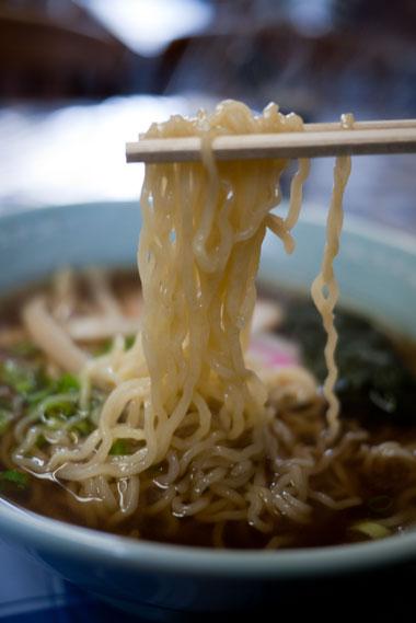 清龍軒 ラーメン 麺