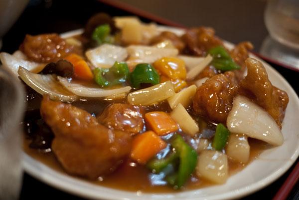 台湾料理 福龍 酢豚