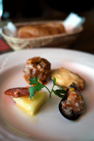 スパニッシュレストラン サングリア トレドランチ