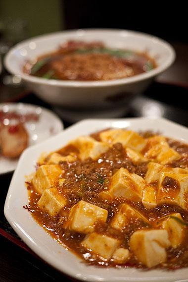 香味館 焼津店 麻婆豆腐
