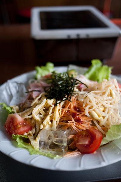 川柳園 冷麺