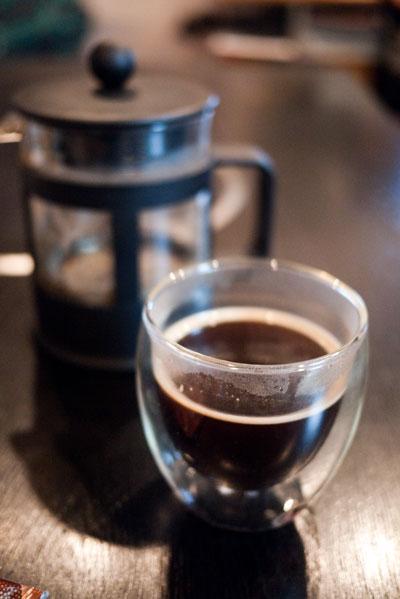 ヘ^ゼルナッツ コーヒー