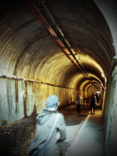 天子のトンネル