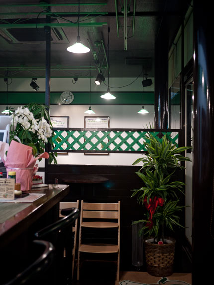 バナナカフェ 店内