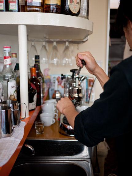 マルケコーヒー エスプレッソマシン