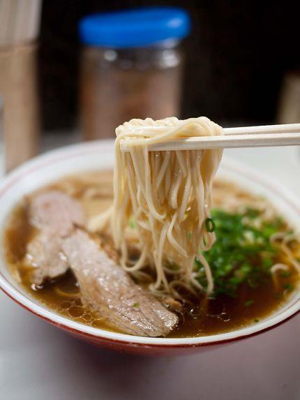 北京屋 ラーメンの麺