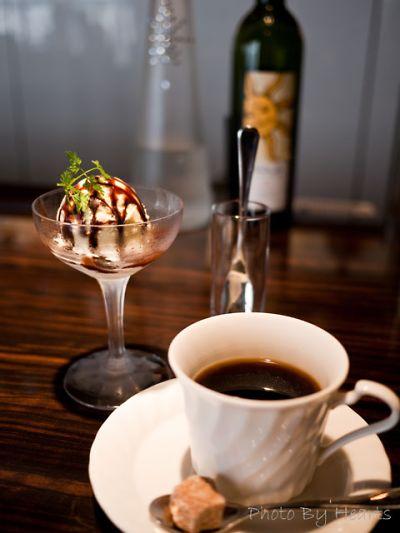 Bar・D コーヒー 濃厚バニラアイス