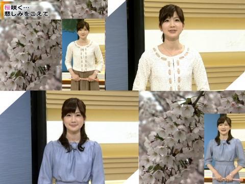 井田寛子 悲しみをこええ・・・桜咲く