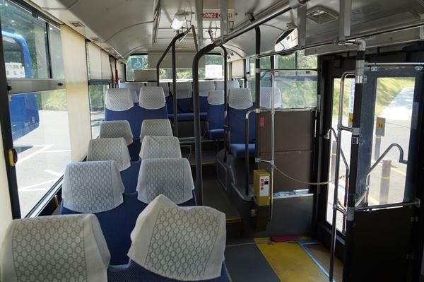 わりとグレードの高いバス