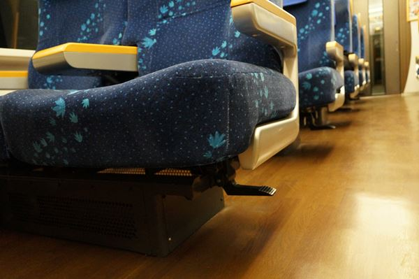 座席だけは大型です
