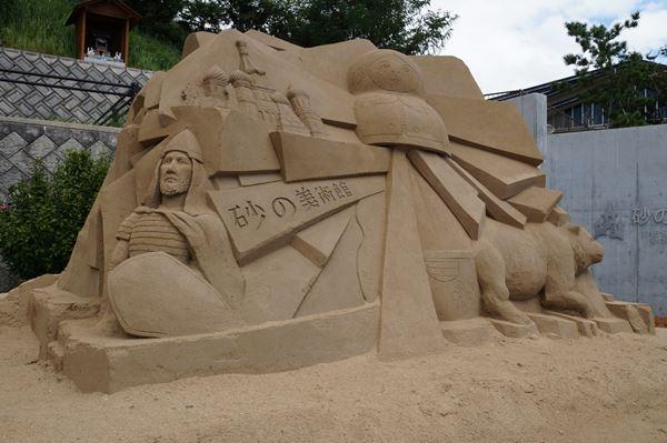 ここも砂像