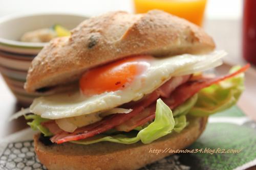 ライ麦サンドイッチ2
