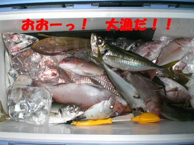 おおーっ! 大漁だ!!