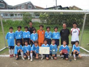 【青葉FC写真館】2009年度青葉FCブルー(区大会準優勝)