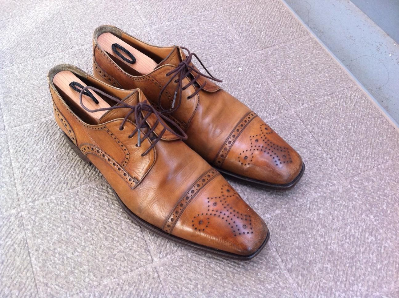 今日は革靴のお手入れ方法について述べたいと思います。